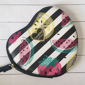 Betsey  Johnson Heart Coin Purse | NWOT